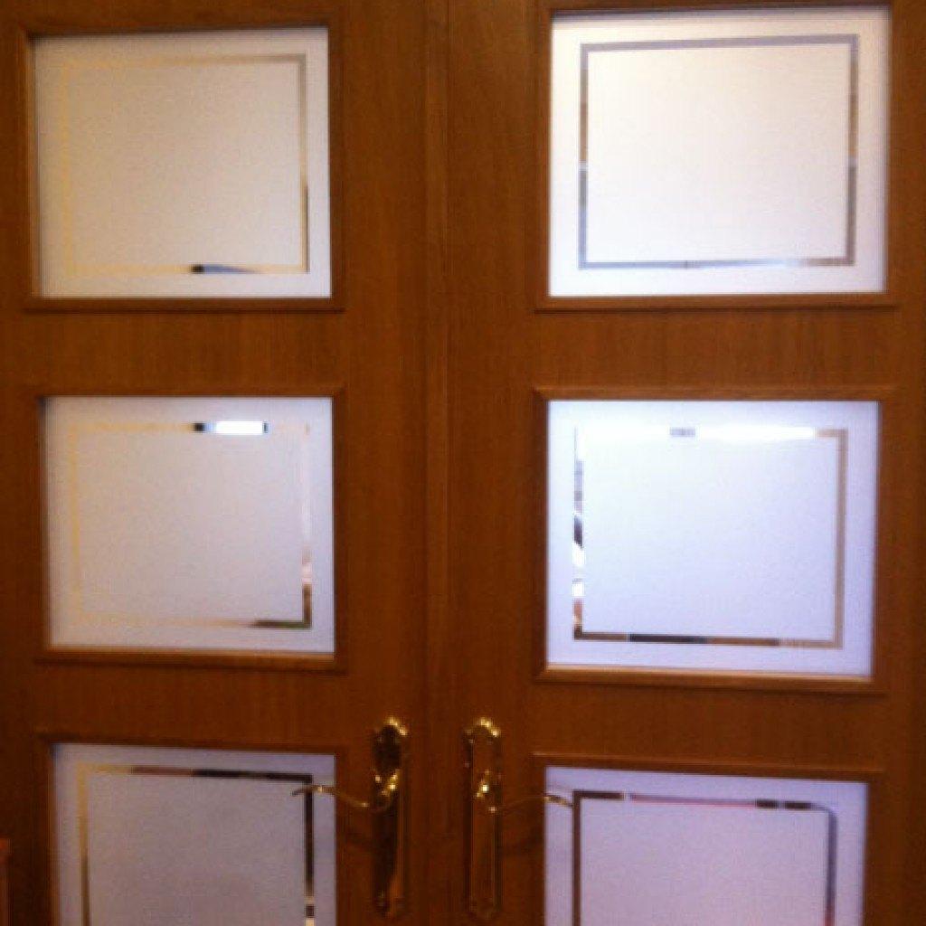 puertas interiores con cristal materiales de