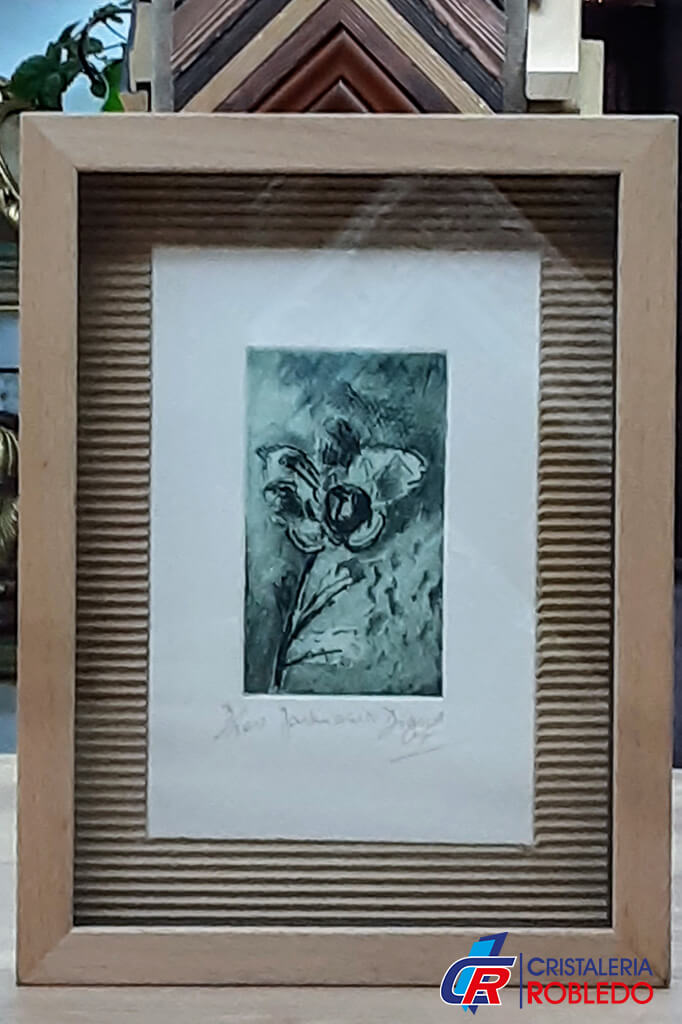 cuadros enmarcados cristaleria robledo